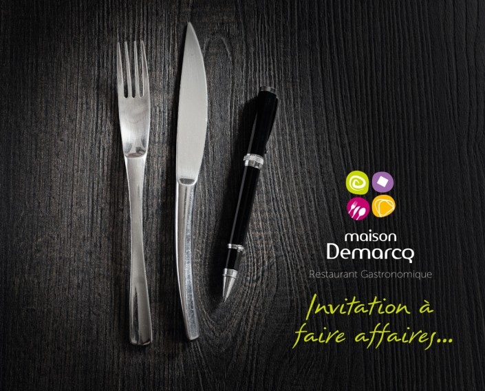 Invitation à Faire Affaires - Restaurant Gastronomique Cambrai - Maison Demarcq